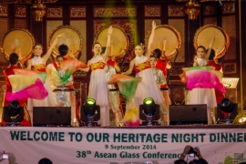 38th ASEAN GLASS CONFERENCE HERITAGE DINNER