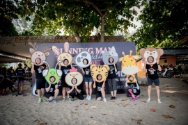 BEACH L5 RUNNING MAN AMD TEAM BUILDING