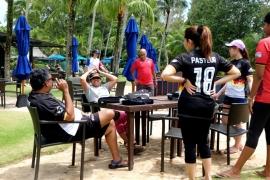 Beach Series Corporate Team Building with Sanofi
