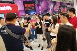 Indoor Series Corporate Team Building at Queensbay Mall