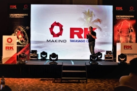 PRODUCT LAUNCHING FOR MAKINO &  RK TAKASAGO