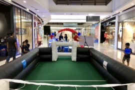 RC CAR SOCCER in Paradigm Mall
