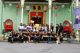 Team Building Penang Running Man L5 - Heritage Series