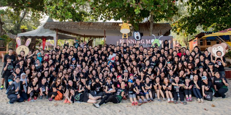 Corporate Team Building Event Running Man L5