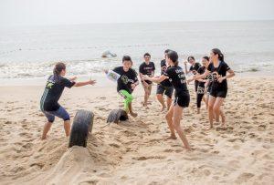 Team Building Running Man L5 Beach Series