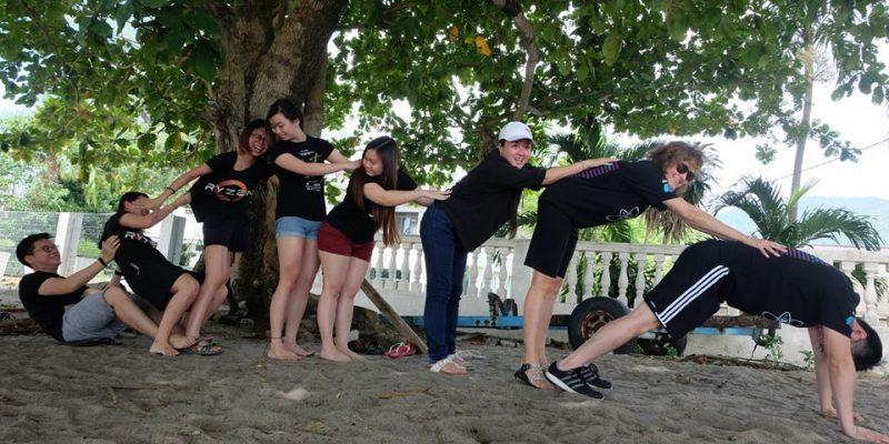 Team Building Beach Series