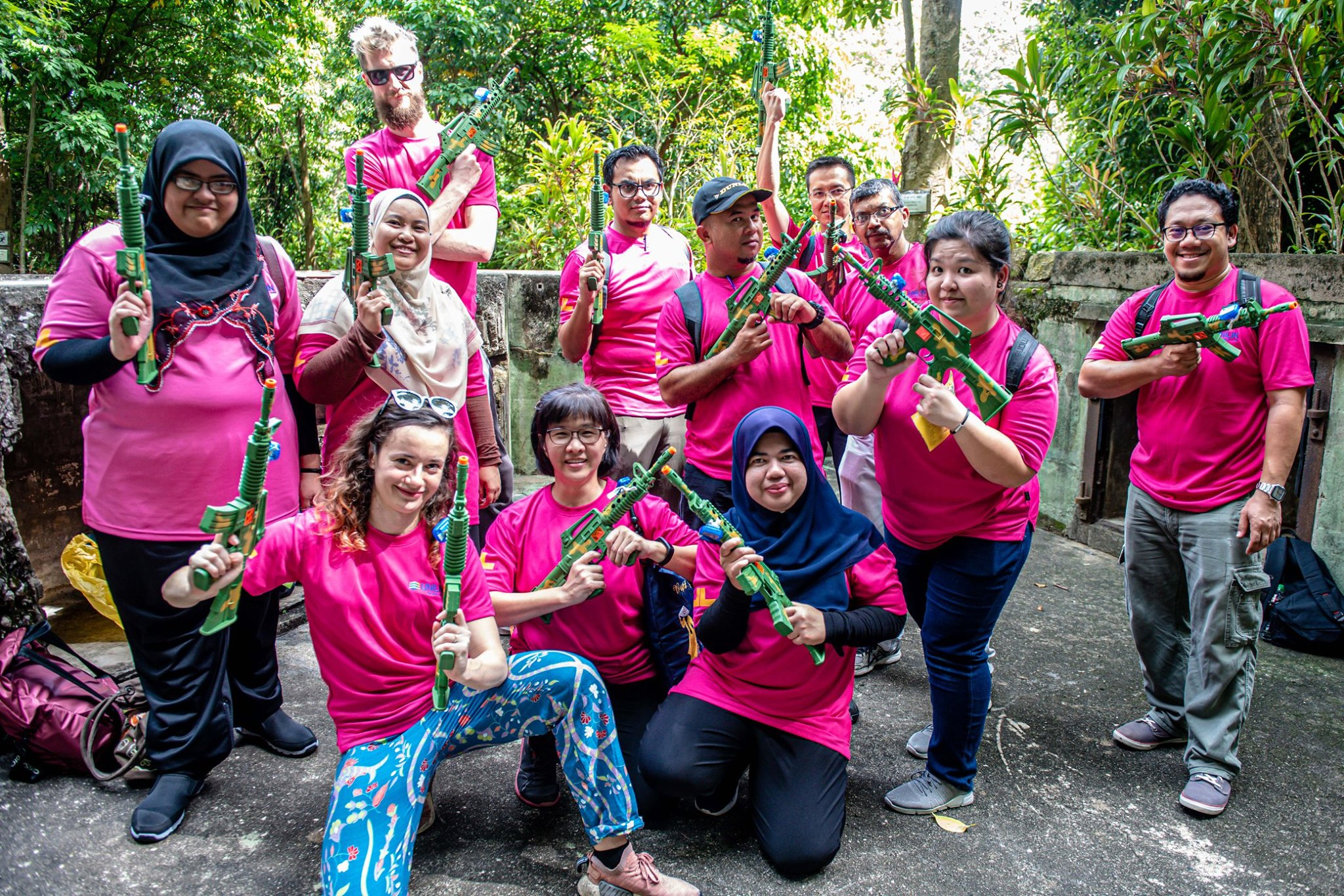 UNILIN_HRDF_Team_Building_Special_Series_at_War_Museum_Penang9