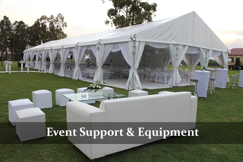 Event Support & Equipment