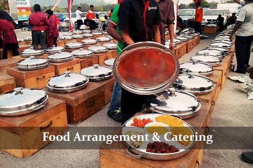 Food Arrangement & Catering